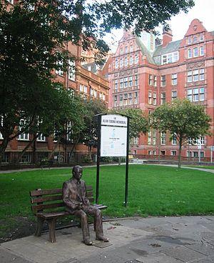 Alan Turing Memorial - Image: Alan Turing Memorial