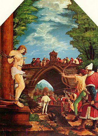 Albrecht Altdorfer - Albrecht Altdorfer: Sebastian Altar in St. Florian's Priory, Upper Austria