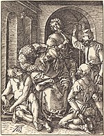 Albrecht Dürer, The Mocking of Christ, probably c. 1509-1510, NGA 6764.jpg