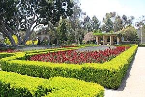 Alcazar Garden - Image: Alcazar Garden Balboa Park