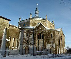 Александровская лютеранская церковь Нарва Эстония.