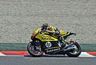 Álex Rins Spanish motorcycle racer