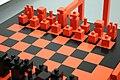 Alexandr rodchenko, scacchi da dopolavoro, progettaz. 1925, ricostruito nel 2007, 04.jpg