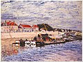Alfred Sisley - Barges on the Loing at Saint-Mammès - Google Art Project.jpg