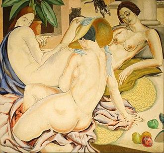 Alfredo Guttero - Image: Alfredo Guttero Mujeres indolentes Google Art Project