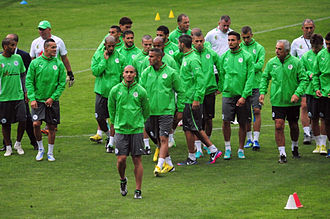 Algeria national football team - Algerian training camp during the 2013 African cup of Nations