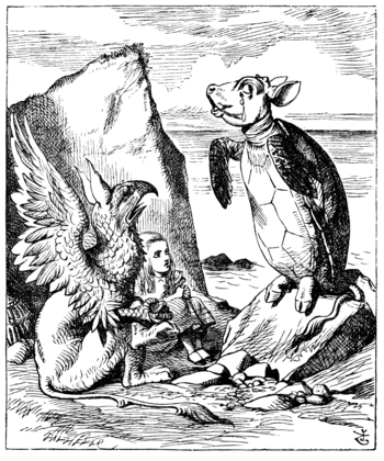 John Tenniel`s original (1865) illustration fo...