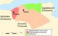 Aljeriako mapa historikoa Rostamidak.png