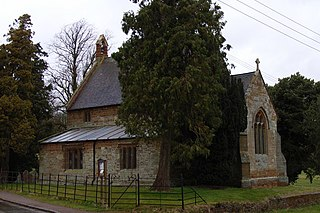 Adstone village in United Kingdom