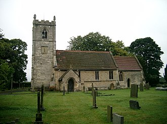 Thorp Arch, West Yorkshire - Image: All Saints' Church, Thorp Arch geograph.org.uk 51547