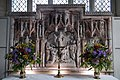 All Saints Church, Middle Claydon, Bucks, England - reredos and altar.jpg