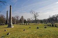 Allegheny Cemetery 2008 spires.jpg