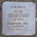 Alma Steinberger Stolperstein in Eisenach.jpg