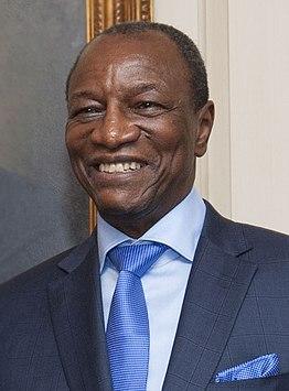 Alpha Condé President of Guinea (2010–present)