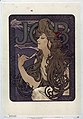 Alphonse Mucha - Advertisment for Job cigarettes, 1896.jpg