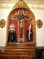 Altar de Cristo Crucificado. Iglesia de San Miguel Arcángel.JPG