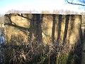 Alte Brückenpfeiler im Schumkesee - Sperenberg - panoramio.jpg