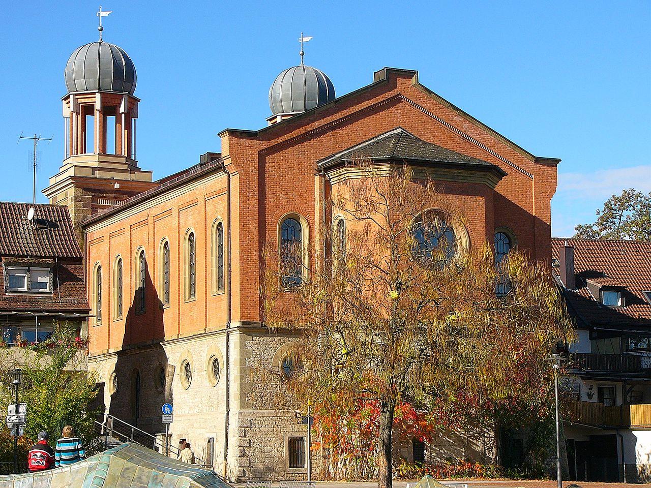 Alte Synagoge (Kitzingen) riverside.JPG