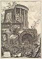 Altra V. del Tempio della Sibilla in Tivoli (Another view of the Temple of the Sibyl in Tivoli) MET DP828240.jpg