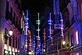 Alumbrado navideño en Madrid 2017, calle Póstigo de San Martín.jpg