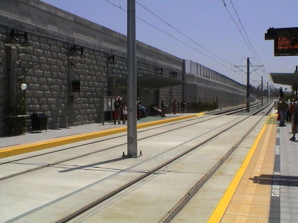 Mission san diego trolley stop