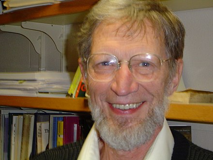 Plantinga at the University of Notre Dame in 2004
