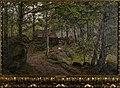 Amaldus Nielsen - Under trærne, Hoven ved Mandal - AN.M.00268 - Munch Museum (cropped-1).jpg