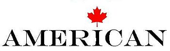 American Logo for American-Canadians
