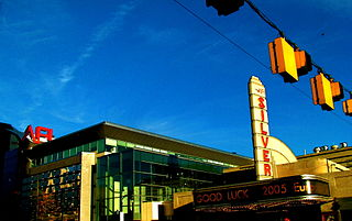 AFI Silver Movie theater in Silver Spring, Maryland