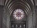 Amiens, Cathédrale (Rosace) vue du Triforium.jpg
