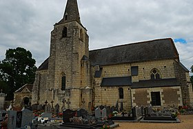Anché (Indre et Loire, France) - Church of Saint Symphorian.jpg