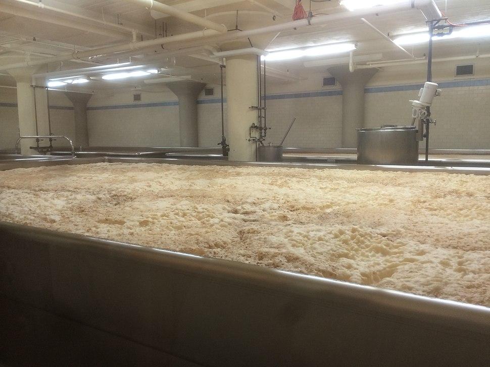 Anchor Brewing Company fermentation tank