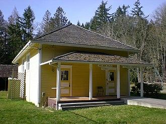 Anderson Island (Washington) - The old Anderson Island School