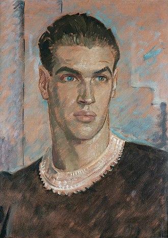 André Eglevsky - André Eglevsky, painted by Glyn Philpot,1937