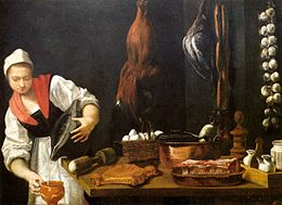 Andrea Commodi - Young Woman in the Kitchen - WGA05171.jpg