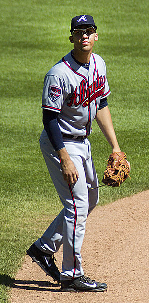 Andrelton Simmons - Simmons on the road in St. Louis, 2014