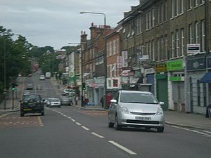 A214 road - Image: Anerley Road 2010
