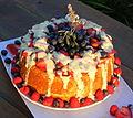 Angel food cake - Birthday cake (cropped).jpg