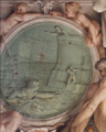 Anibale Carracci, Farnese Ceiling, Hero and Leander.png