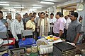 Anil Shrikrishna Manekar Explaining Portable Fun Science Exhibits To Mahesh Sharma - CRTL Workshop - NCSM - Kolkata 2017-07-11 3457.JPG