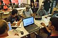 Anish Deb at Wikipedia Booth - Apeejay Bangla Sahitya Utsav - Kolkata 2015-10-10 5403.JPG