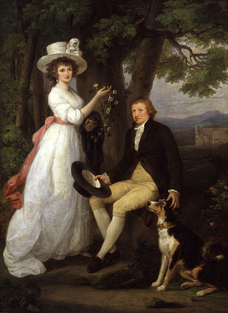 Thomas Jenkins (antiquary) - A 1790 portrait of Thomas Jenkins with his niece Anna Maria by Angelica Kauffman