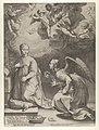 Annunciation from The Birth and Early Life of Christ MET DP841295.jpg