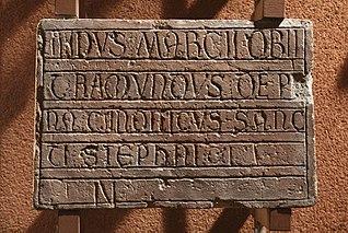 Épitaphe de Ramundus de Pena