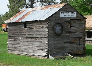 Anselmo, Nebraska - Historic jail in Anselmo