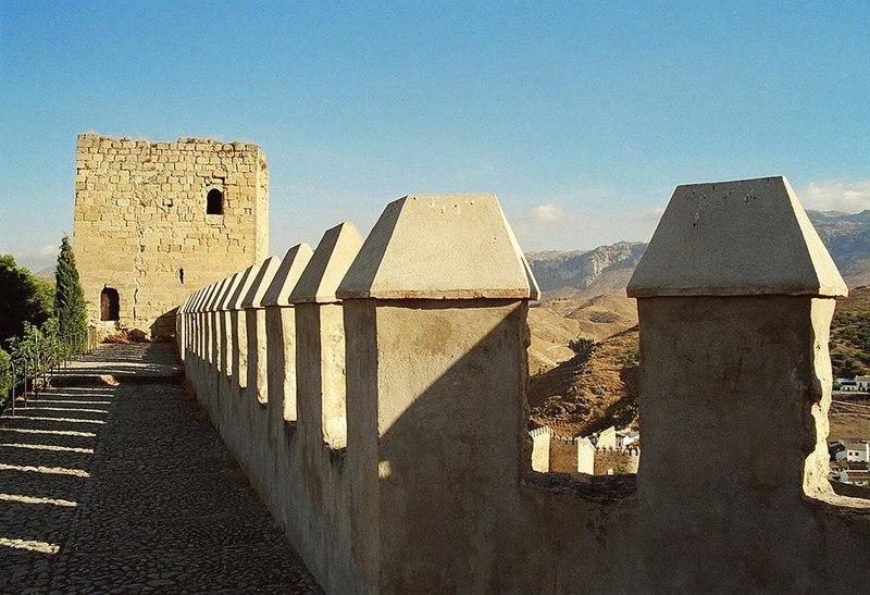 Datei:Antequera Alcazaba2004.jpg