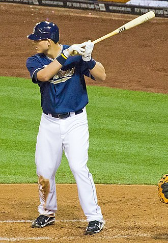 Anthony Rizzo - Rizzo batting for the San Diego Padres in 2011