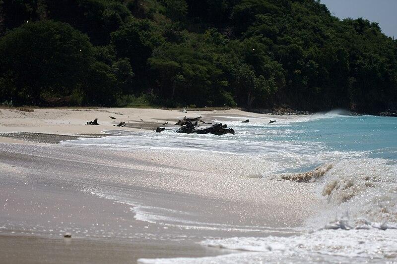 antigua beach picture, carribean