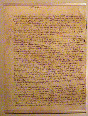 Antonio Rincon - Letter of Antonio Rincon to Admiral de Bonnivet, reporting on his missions in Hungary and Poland, 4 Avril 1523.