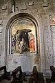 Antonio del massaro detto il pastura, ss. g. battista, girolamo, lorenzo e un committente, 1490 ca. 00.jpg